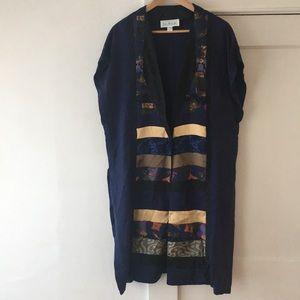 100% Silk Tunic by Lili Butler